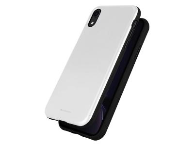 Удароустойчив Гръб Mercury SKINNY за iPhone XR, Сребрист