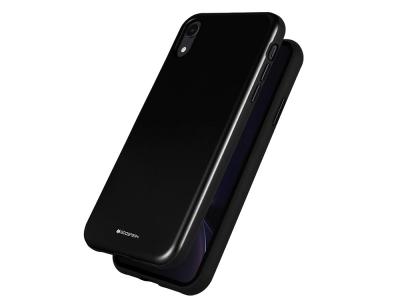 Удароустойчив Гръб Mercury SKINNY за iPhone XR, Черен