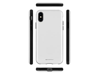 Удароустойчив Гръб Mercury SKINNY за iPhone X / XS, Сребрист