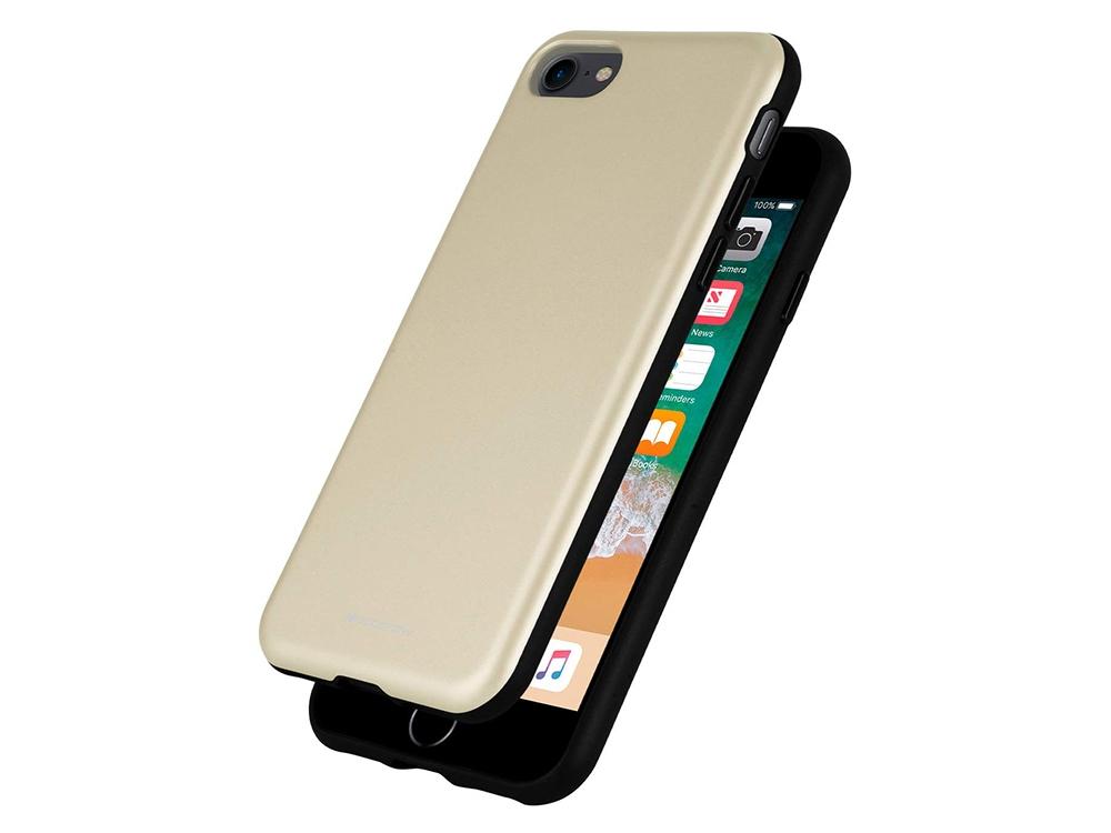 Удароустойчив Гръб Mercury SKINNY за iPhone 7 / iPhone 8/ iPhone SE 2020, Златист