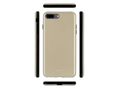 Удароустойчив Гръб Mercury SKINNY за iPhone 7 Plus / 8 Plus , Златист