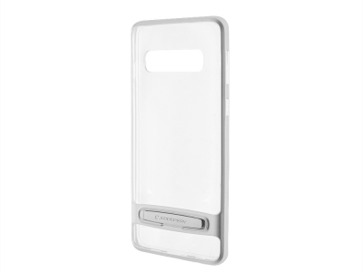 Силиконов гръб Mercury DREAM BUMPER за Samsung Galaxy S10 Plus, Сребрист