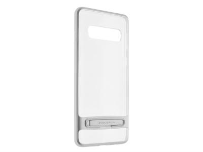 Силиконов гръб Mercury DREAM BUMPER за Samsung Galaxy S10, Сребрист