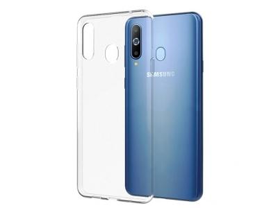 Силиконов гръб за Samsung Galaxy A20E, Прозрачен