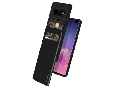 Калъф Гръб SKY SLIDE Mercury за Samsung Galaxy S10 Plus (G975), Черен