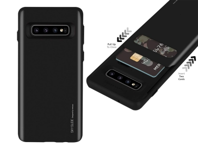 Калъф Гръб SKY SLIDE Mercury за Samsung Galaxy S10 (G973), Черен