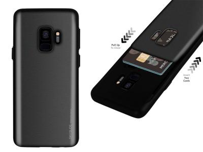 Калъф Гръб SKY SLIDE Mercury за Samsung Galaxy S9 (G960) , Черен