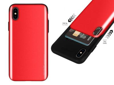 Калъф Гръб SKY SLIDE Mercury за iPhone XS MAX, Червен