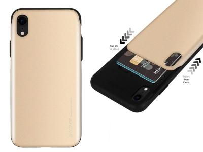 Калъф Гръб SKY SLIDE Mercury за iPhone XR, Златист