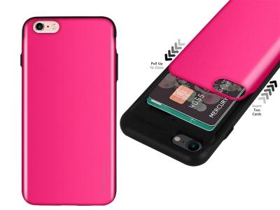 Калъф Гръб SKY SLIDE Mercury за iPhone 6 / 6S, Розов