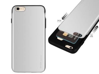Калъф Гръб SKY SLIDE Mercury за iPhone 6 / 6S, Сребрист