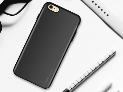 Калъф Гръб SKY SLIDE Mercury за iPhone 6 / 6S, Черен