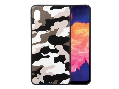 Силиконов Гръб за Samsung Galaxy A10, Бял