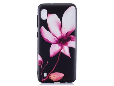 Силиконов Гръб за Samsung Galaxy A10, Красиво цвете