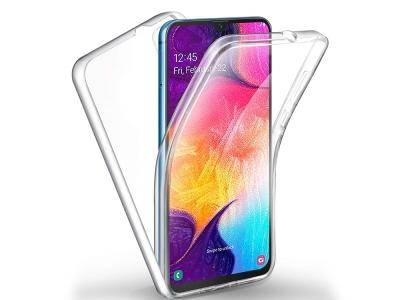 360 Градуса калъф за Samsung Galaxy A20e, Прозрачен