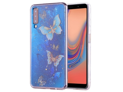 Силиконов Гръб за Samsung Galaxy A70, Пеперуди