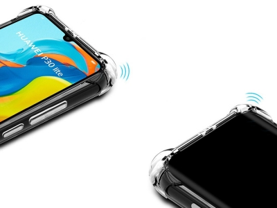 Силиконов Гръб Drop-resistant за Huawei P30 Lite, Прозрачен