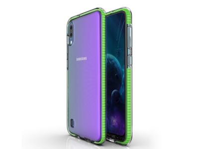 Силиконов Гръб Hybrid Bi-color за Samsung Galaxy Galaxy A10 / M10, Зелен