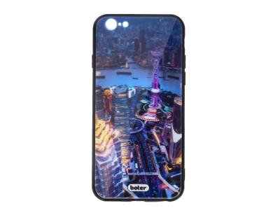 Пластмасов Гръб Glass Boter за iPhone 7 / iPhone 8/ iPhone SE 2020, Нощен град