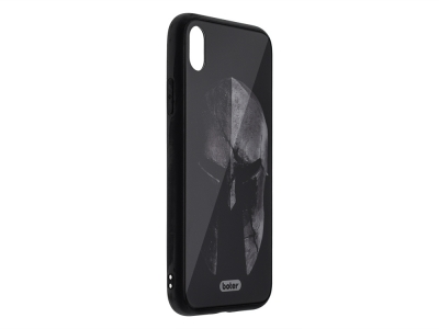 Пластмасов Гръб Glass Boter за iPhone XS Max, Войн