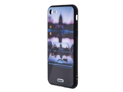 Пластмасов Гръб Glass Boter за iPhone 6 / 6S, Отражение