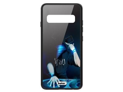 Пластмасов  Гръб Glass Boter за Samsung Galaxy S10 Plus, DJ