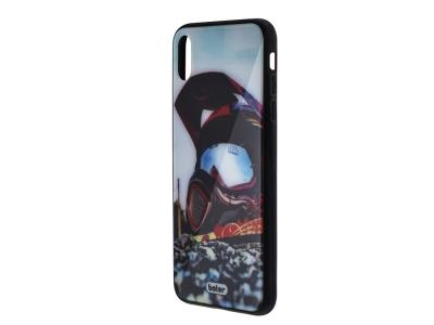 Пластмасов Гръб Glass Boter за iPhone XS Max, Каска