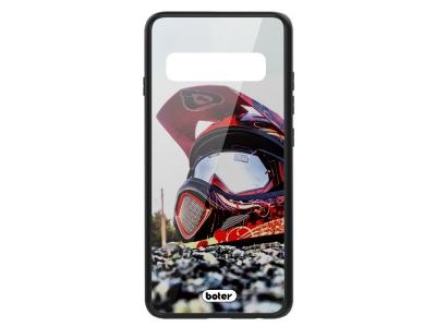 Пластмасов Гръб Glass Boter за Samsung Galaxy S10 Plus, Каска