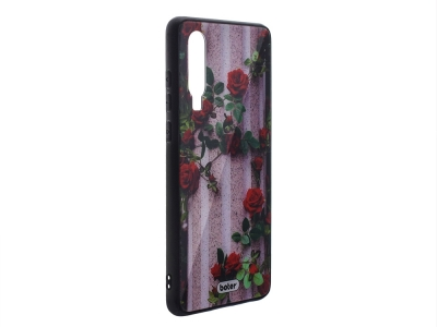 Пластмасов Гръб Glass Boter за Huawei P30, Рози