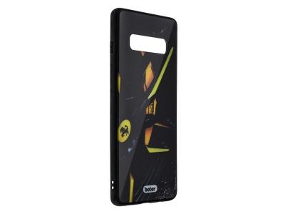 Пластмасов Гръб Glass Boter за Samsung Galaxy S10 Plus, Ferrari