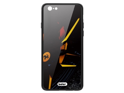 Пластмасов Гръб Glass Boter за iPhone 6 / 6S, Ferrari