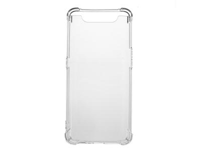 Силиконов Гръб Drop-resistant за Samsung Galaxy A80/A90, Прозрачен