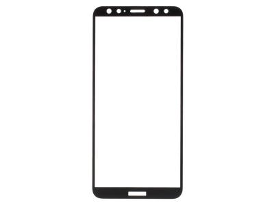 Стъклен Протектор RURIHAI за Huawei Mate 10 Lite, Черен