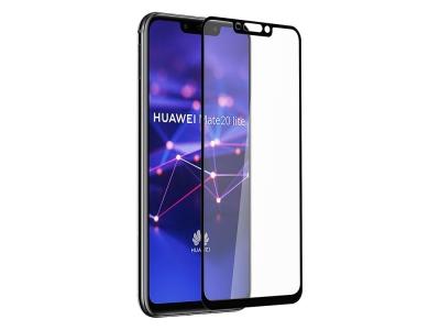 Удароустойчив Протектор 6D Nano Full за Huawei Mate 20 Lite, Черен