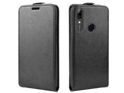 Калъф Тефтер Vertical за  Huawei P Smart Z / Y9 Prime 2019 / nova 5i , Черен