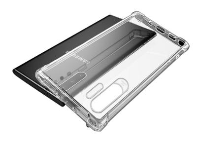 Силиконов гръб NXE Crysta за Samsung Galaxy Note 10 Plus, Прозрачен