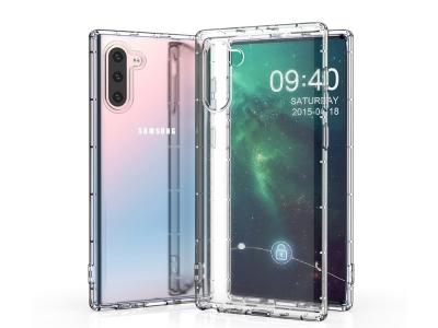 Силиконов Гръб Drop-resistant за Samsung Galaxy Note 10, Прозрачен