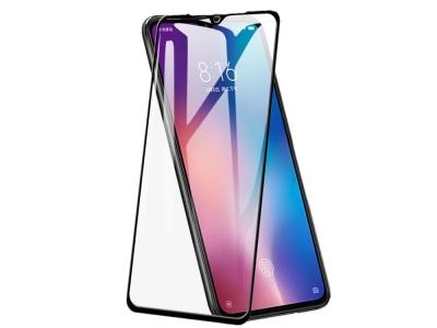 Стъклен протектор 3D Full за Xiaomi Mi 9 SE, Черен
