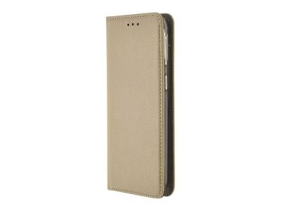 Калъф Тефтер Smart Book за Samsung Galaxy A40, Златист