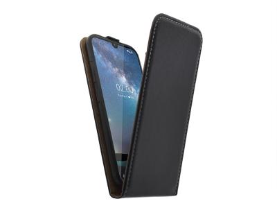 Калъф Тефтер Slim Flexy за Nokia 2.2 (2019), Черен