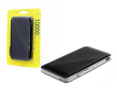 Универсална Външна Батерия Silk 10000mAh, Черен