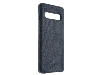 Пластмасов Гръб Texture за Samsung Galaxy S10 Plus, Син