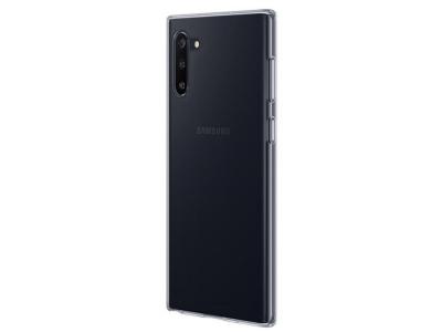 Силиконов гръб за Samsung Galaxy Note10, Прозрачен