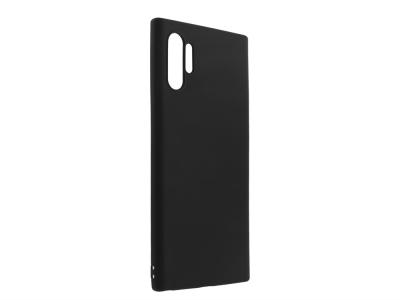 Силиконов Гръб Level за Samsung Galaxy Note 10 Plus, Черен