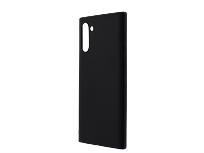 Силиконов Гръб Level за Samsung Galaxy Note 10, Черен