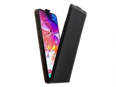 Калъф Тефтер Flexy за Samsung Galaxy A70 , Черен