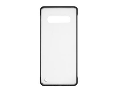 Пластмасов гръб C039 за Samsung Galaxy S10 Plus (G975) , Черен
