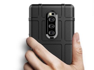 Удароустойчив Калъф Grid за Sony Xperia 1, Черен