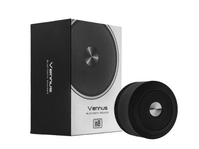 Преносима Bluetooth колонка Vennus n8 , Черен