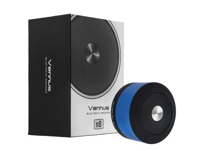 Преносима Bluetooth колонка Vennus n8 , Син